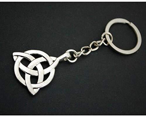 Celtic Keychain Celtic Cross Keychain Celtic Knot Keychain Irish Keychain Celtic Keyring Medieval Keychain