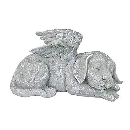 Amusingtao Gedenkstatue, Hundeengel, Haustier-Gedenkstatue, Hundeengel, Haustier-Denkstatue, Sammlungen, Hunde-Denkstatue, Heimdekoration, Stein-Finish