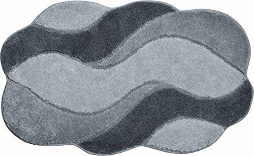Grund Carmen Tapis de Bain, Polyacrylique Ultrasoft, Gris, 70x120 cm