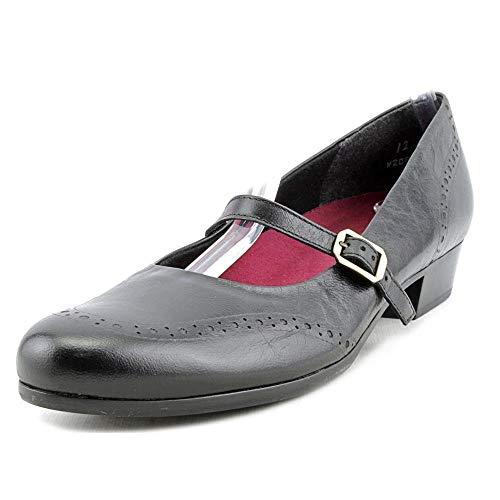 Munro Womens Whitney, Black Leather, Size 7.0