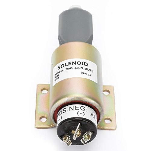 Magnetventil,12V Flameout Magnetventil magnetic valve 12V Kraftstoffabsperr Flameout Magnetventil für Dieselmotor,Flameout Magnetventil 12V