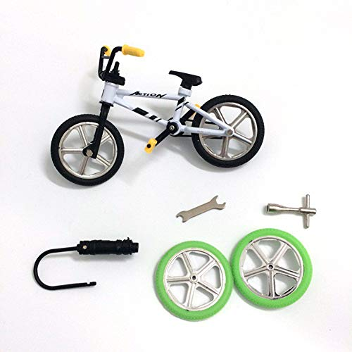 Anniston Kids Toys, Mini Alloy BMX Finger Bicycle Model Bike Fans Kids Children Toy Gift Decoration Classic Toys for Baby Children Toddlers Boys & Girls, Random Color