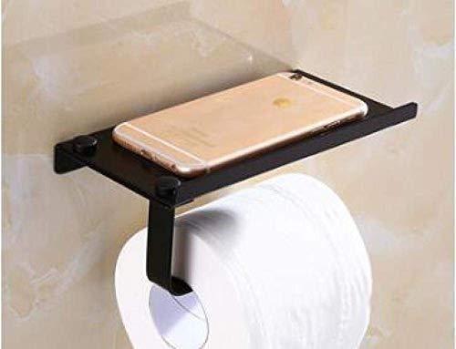 Portarrollos de Papel higiénico a Prueba de Humedad Soporte de teléfono de Acero Inoxidable para baño con teléfonos de baño Toallero Portarrollos de Papel higiénico Cajas de pañuelos Portarrollos de