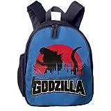 ゴジラ Godzilla 不明生物 リュック 子供 キッズ バッグ リュックサック 通学 旅行 アウトドア 大容量 かわいい おしゃれ 2カラー 入学お祝いギフト