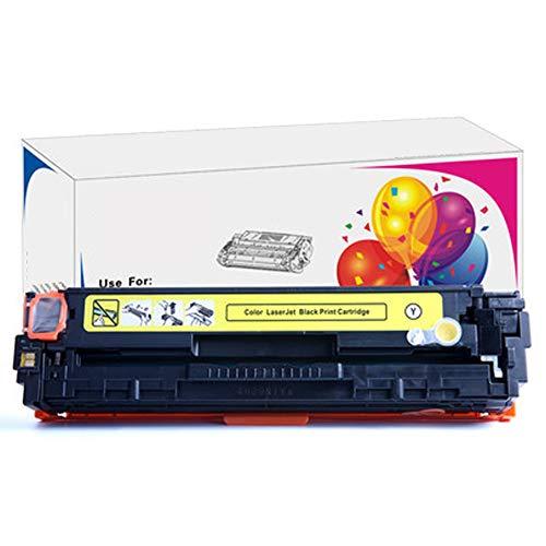 Para HP 131A CF210A Para HP Color Laserjet Pro CP1525 CM1415 Impresora Compatible Cartucho de tóner Impresora láser a color de repuesto con chip.-yellow