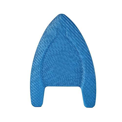 Tabla de natación para niños y adultos, diseño antideslizante, color azul