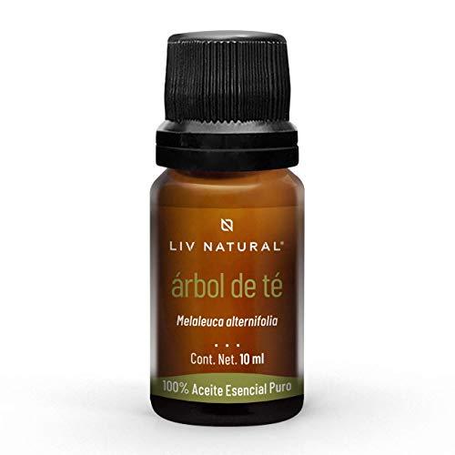 Aceite esencial de Árbol de té PREMIUM LIV natural, 100% puro y natural, grado terapéutico, para aromaterapia, difusor, cuidado personal y belleza.