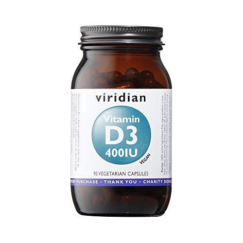 Viridian Vitamin D3 400iu - 90 Vegicaps