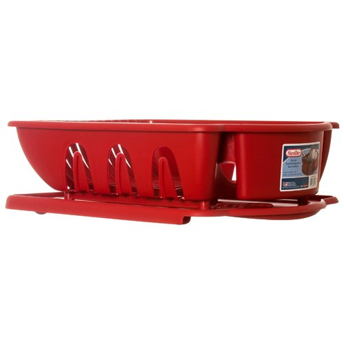Sterlite 2281413 red 2pc ultra sink set, One Size