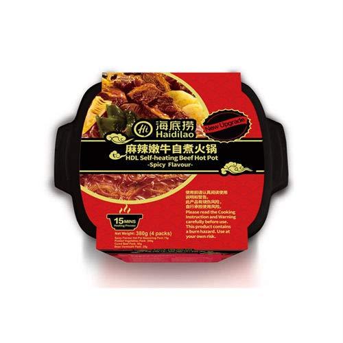 Haidilao Self-Heating Spicy Beef Hot Pot 380g