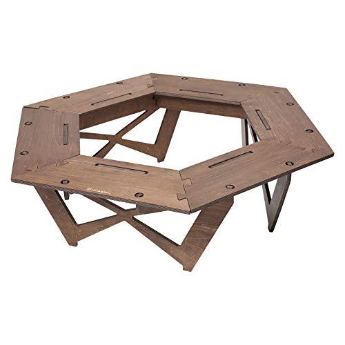 Hilander(ハイランダー) プライウッドヘキサゴンテーブル