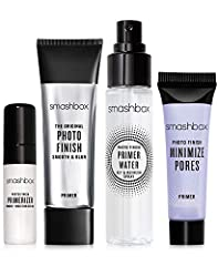 DESCRIPTION This set of travel-size face primers works with all skin types and foundations so makeup applies evenly & stays fresh. Use them individually while on the go—or together for multi-action priming. (A $45 value.) Includes:  1 travel-size Pho...