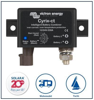 Victron Energy CYR010230010 Batteriekoppler, Cyrix-ct 12V/24V 230A