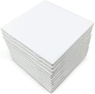 Glossy White Ceramic Tiles 4 1/4