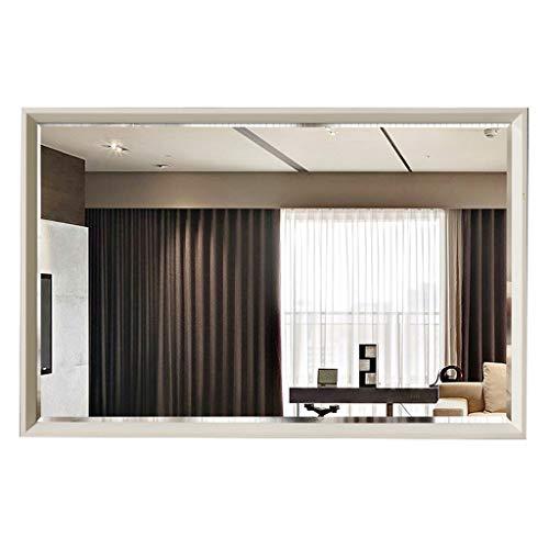 Espejo De Baño Enmarcado Moderno Y Simple, Espejo De Tocador Colgante Horizontal/Vertical Montado En La Pared De Alta Definición, Espejo De Decoración De Inodoro