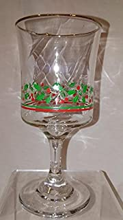 arby's christmas wine glasses