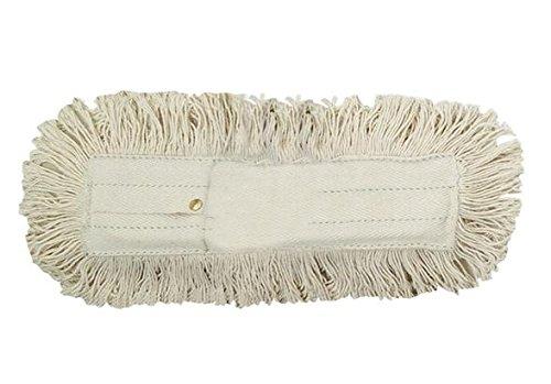 Apex Recharge pour Balai à Franges Coton Professionnel, Blanc, 60 cm