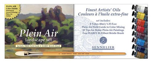 Sennelier Artist Oils Plein Air Set of 8
