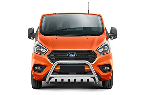 Protector frontal con placa de parrilla apta para Ford Transit Custom a partir del año de...