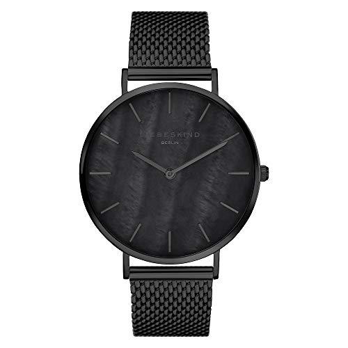 Liebeskind Berlin Damen Analog Quarz Uhr mit Edelstahl Armband LT-0190-MQ