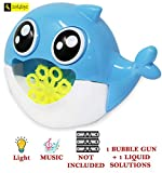 Musical Cartoon Bubble Machine for Parties, Weddings, Indoor and Outdoor Activities, Automatic Bubble Blower for Kids