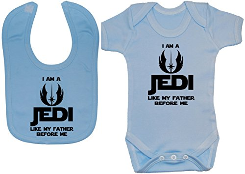 Acce Products - Body - Uni - Manches Courtes - Bébé (fille) 0 à 24 mois, Bleu, 3-6 mois