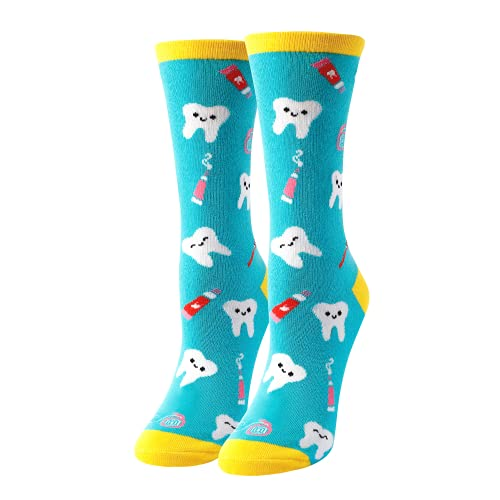 HAPPYPOP Dental Hygienist Gifts Gifts For Dentist Dentist Gifts For Women Dentist Socks