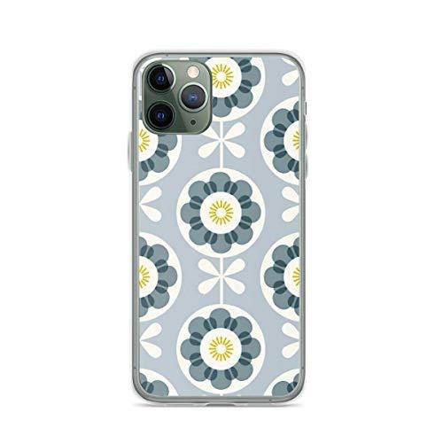 Phone Case Scandinavian Orla Kiely Design Compatible with iPhone 6 6s 7 8 X Xs Xr 11 12 Pro Max Mini Se 2020 Charm Scratch Drop
