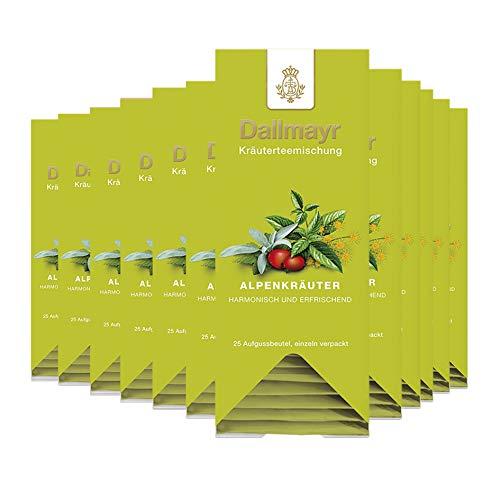 Dallmayr Alpenkräuter, 25 Aufgussbeutel 12er Pack