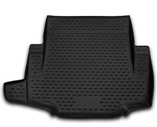 AD Tuning TMP12001 Passform Kofferraumwanne, Anti-Rutsch Oberfläche, schwarz