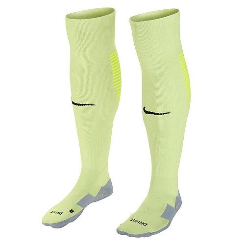 Nike Unisex erwachsene Matchfit Cushioned Sockenstutzen, Gelb (Volt/Schwarz/701), L (42-46 EU)