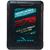 IndiPRO Tools Micro-Series V-Mount Li-Ion 270Wh Battery