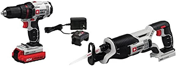 Porter-Cable PCC670B 20V MAX Cordless Lithium-Ion Reciprocating Saw Bare Tool
