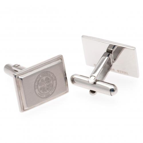 Stainless Steel Cufflinks - Celtic F.C