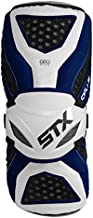 STX Lacrosse Cell 3 Arm Guard, Navy/White, Small