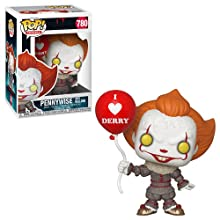 Funko Pop! Movies: It 2 - Pennywise with Balloon, Multicolor, us one-Size