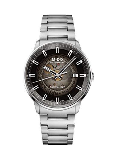 Mido Commander II/GR/A/Steel/Black M0214071141100 Reloj Automático para Hombres
