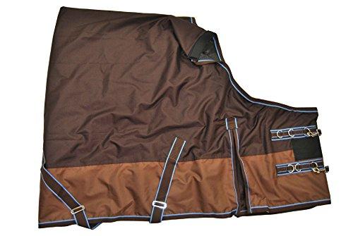Euroriding Outdoor Decke Stormy Größe 155cm, Farbe braun/dunkelbraun