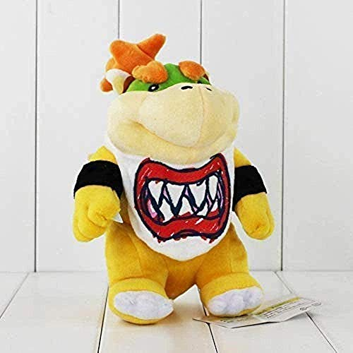 QIXIDAN Felpa 21cm Super Mario Koopa Bowser Dragon Plush Doll Brothers Bowser Animal de Peluche Suave Regalo para niños