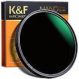 K&F Concept Filtro ND8-ND128 (5 Pasos) 77mm Filtro Densidad Neutra Ajustable ND8 ND16 ND32 ND64 ND128 Filtro Slim Vidrio Óptico Nano-Recubrimiento MRC de 18 Capas para Todas Las Lentes de cámara DSLR