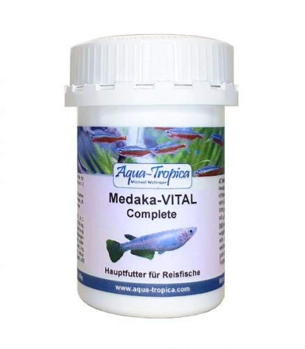 Aqua-Tropica Medaka-VITAL Complete 40g - Spezial Hauptfutter für Medaka, Reisfische, Futter