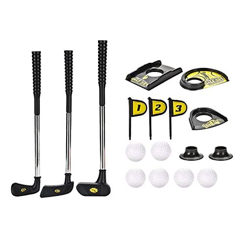 Chengstore Premium Kinder-Golfschläger, Kinder-Golfschläger-Set, Kinder-Golf-Set Golf-Set für das Alter von 2-6 Jahren Outdoor-Indoor-Sport-Spielset