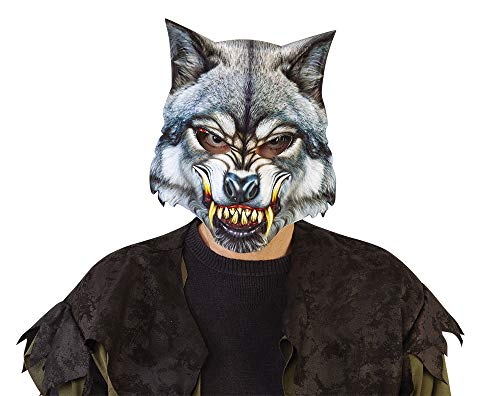 Haunted House Heren Wolf Masker (Rubies S5161)