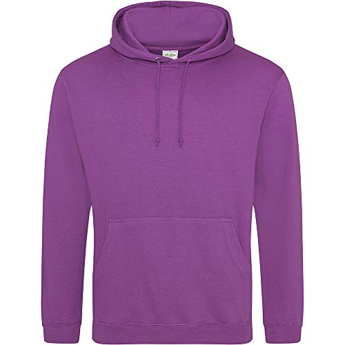 Anvil - Sweatshirt à capuche - Adulte unisexe (XL) (Magenta)