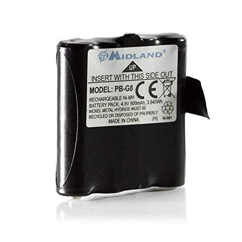 Midland APMRBAT99 - Batterie für PBG6/G8 800 Mah 4,8V