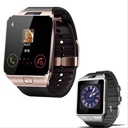POKQHG Top Hot Koop Smart Horloge Mannen Vrouwen Dz09 Camera Sim-Kaart Bellen Smartwatch Voor Ios Android Sport Smart Fitness Paar Klok Set