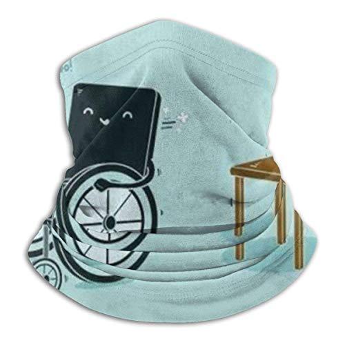 Gwrix Ronde sjaal, naadloze halsdoek, halsdoek, halsmanchet, slangenschaal, rolstoelen en stoelen, slangmuts, sporthoofddoek, gezichtsscarf voor stof, gezichtswarmer, halsverwarmer