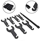 Bruce & Shark, 43300 Pneumatic Fan Clutch Wrench Set for Ford for Chry-sler for GM for Je-ep