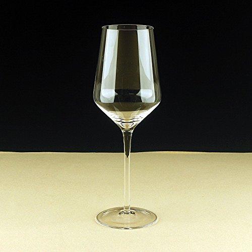 JARONG Tasse À Vin Rouge Cristal sans Plomb,Bar Restaurant 450Ml