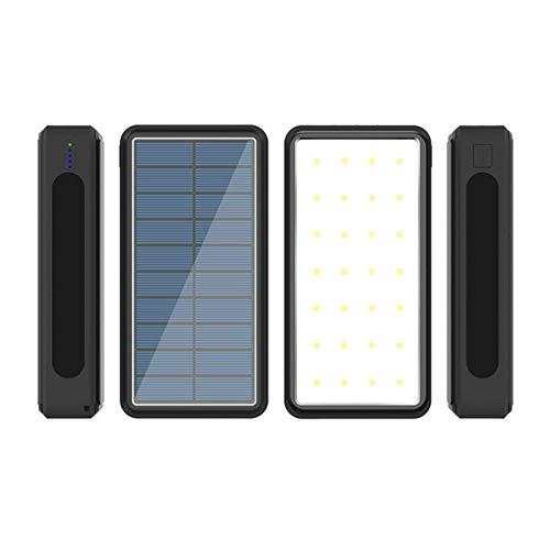N-B Xiaomi iPhone 80,000m Ah Banco de energía Solar inalámbrico Batería Externa Cargador de teléfono móvil portátil